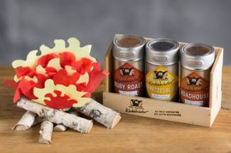 Kindeskinder Spice Set with paper flames and fire